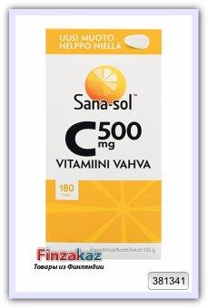 """Витамин Sana-sol """"С 500mg"""" 180 шт"""