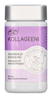 "Витаминная таблетка коллагена и гиалуроновой кислоты""Ladyvita Kollageeni"" 60 таб"