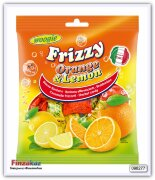 Конфеты-шипучки ( лимон и апельсин) Woogie Candies Frizzy Orange & Lemon 250 гр