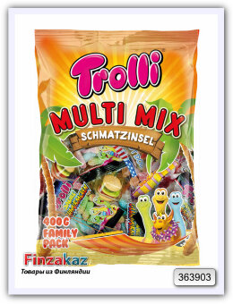 Trolli Конфеты желейные Multi Mix 400 гр
