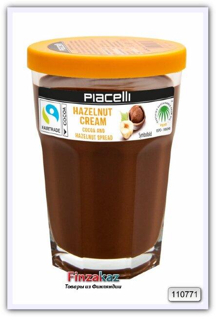 Крем-нуга из лесных орехов с какао (на основе растительных масел) Hazelnut nougat cream 350 гр
