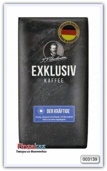 Кофе натуральный жареный молотый Exklusiv Kaffee Der Kraftige J.J.Darboven 250 гр