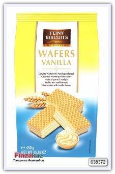 Вафли с начинкой из ванильного крема Wafer with vanilla cream filling 450 гр