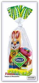 """Молочный шоколад фигурный """"пасхальная смесь """" Only Schokolade Ostermischung 100 гр"""