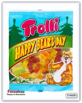 Мармелад «ЖЕВАТЕЛЬНЫЙ» Trolli  Happy Bears Day 100гр