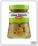 Оливки зеленые фаршированнные  D'Amico 290/160 гр