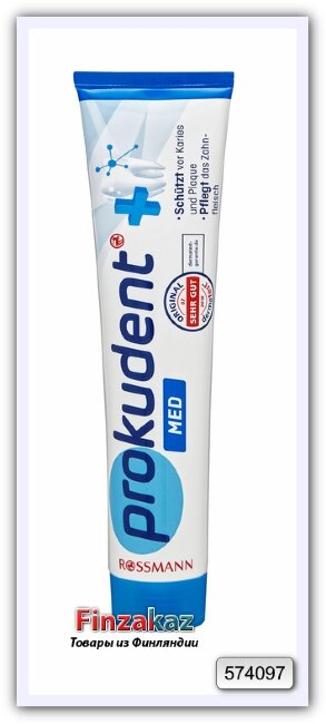Prokudent med Zahncreme Медицинская зубная паста против кариеса и парадонтоза  125 мл