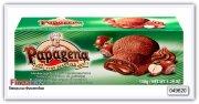 Песочное печенье с орехово-кремовой начинкой Papagena Biscuits mit Haselnusscremefullung 150 гр