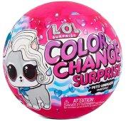 Оригинальный шар L.O.L. Surprise Color Change Pets 2 Pack Exclusive with 6 Surprises