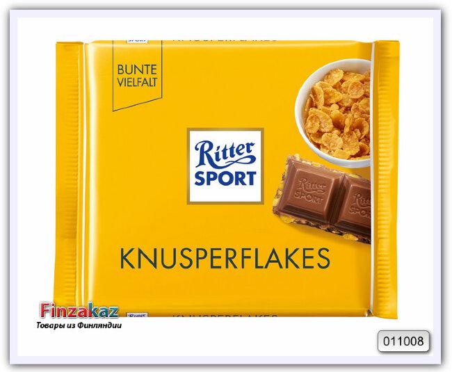 Шоколад Ritter Sport Knusperflakes 100 гр