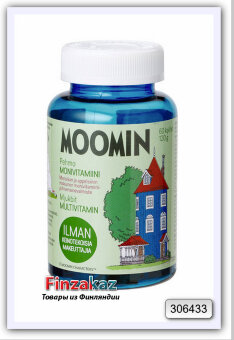 Витамин Moomin Pehmo Monivitamiini 60 шт