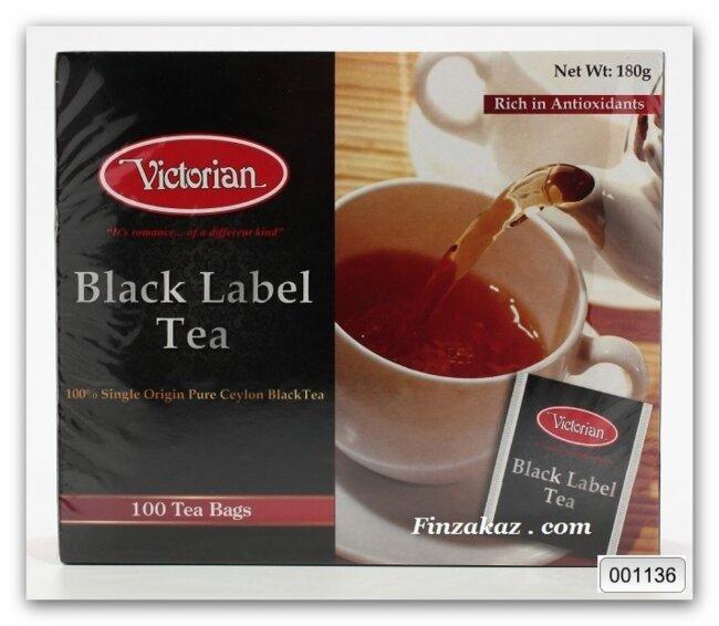Чёрный чай Victorian 100 шт