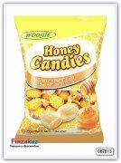 Карамель леденцовая с медовой начинкой Woogie Honey Candies - candies with honey filling 225 гр
