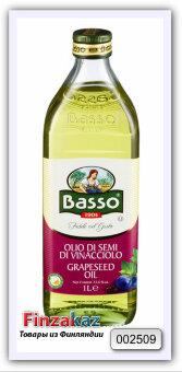 Масло Basso из виноградных косточек рафинированное 1 л
