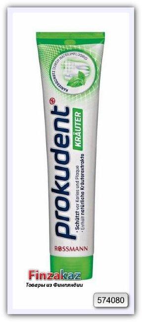 Зубная паста Prokudent Krauter (лесные травы) 125 мл
