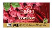 Чай чёрный Mervin Ceylon Black Tea Raspberry (малина) 20 шт