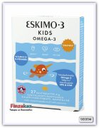 """Жевательные таблетки с рыбьим жиром и с витамином """"D"""" Eskimo-3 Kids Chewable + Vitamin D 27 таб"""