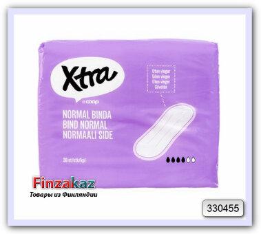 Ежедневные прокладки X-tra normaali siiveton side 30 шт