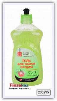 Гель для мытья посуды Fedora Home (яблоко) 500 мл