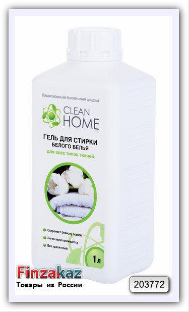 Гель для стирки Clean Home (для белого) 1 л