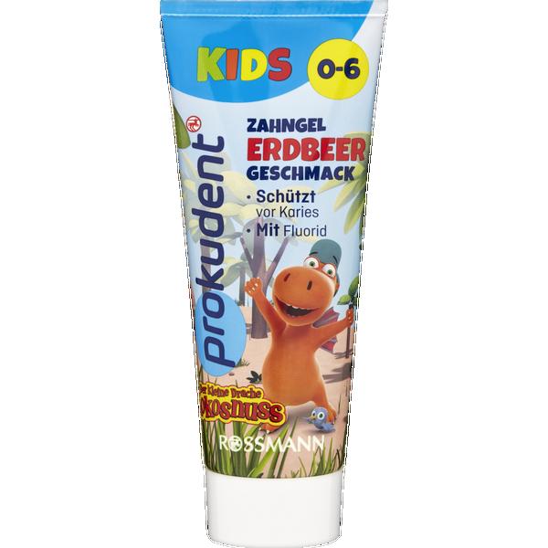 Зубная паста для детей Prokudent до 6 лет со вкусом клубники 75 мл