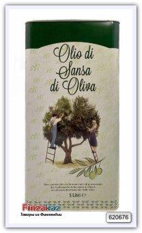 Масло оливковое Sansa (Pomace) рафинированное с добалением нерафинированного в ж.б. 5 л