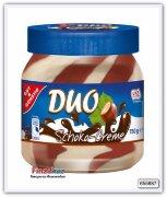 Шоколадно-молочная паста с фундуком Duo Chocremo Gut & Gunstig 750 гр