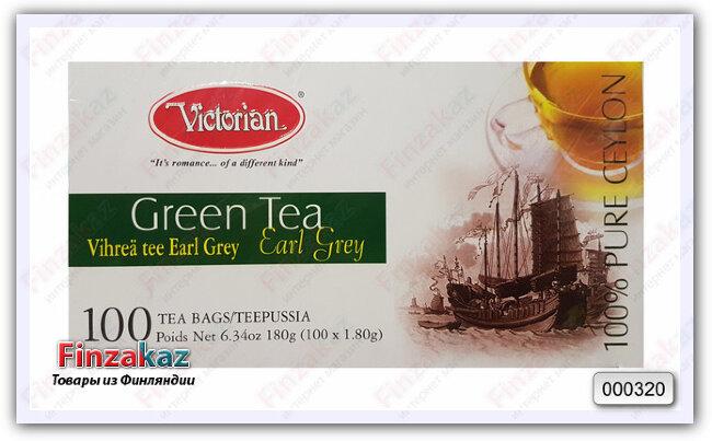 Чай Victorian (зелёный с бергамотом) 100 шт