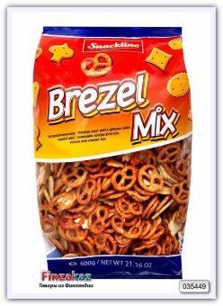 """Соленое печенье """"Brezel mix"""" Snackline Snack mix 600 гр"""