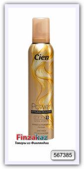 """Пенка для волос """"экстра сильная фиксация"""" Cien № 5 250 мл"""