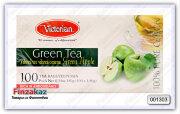 Чай Victorian (зелёный с яблоком) 100 шт