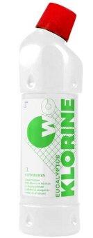 Гель для чистки туалета (хлор) KLORINE-WC puhdistuskloori Eucalyptus Foxtel (Эвкалипт) 1 л