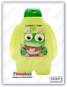 Шампунь + гель On Line Kids 2 в 1 (bubble gum) 300 мл