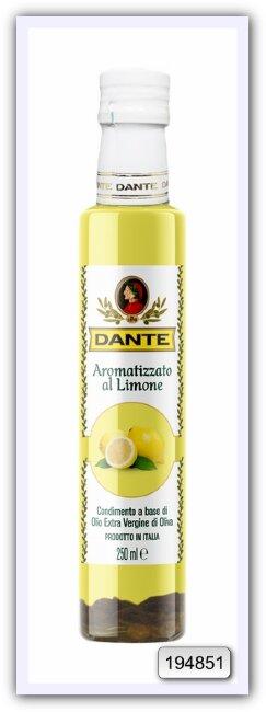 Оливковое масло Olio Dante Extra Virgin первого холодного отжима со вкусом лимона 250 мл