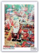 Шоколадный календарь Karkkipussi Mauri Kunnas joulukalenteri 75 гр