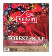 Чай чёрный Mervin Metsämarja (лесные ягоды) 100 шт