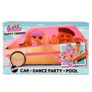 Оригинальный игровой набор- трансформер  L.O.L. Surprise Party Cruiser Car автомобиль 3 в 1