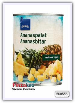 Ананас Rainbow Ananaspalat ananasmehussa 567/340 гр