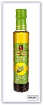 Оливковое масло DANTE Olio Extra Vergine di Oliva со вкусом дикого базилика 250 мл