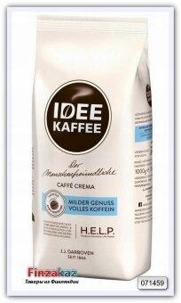 Кофе натуральный жареный в зёрнах Idee Kaffee Caffe Crema 1кг