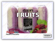 Мыло туалетное Dalan Fruits Creamy Ягоды (4х100 гр)