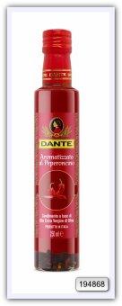 Оливковое масло Olio Dante Extra Virgin первого холодного отжима со вкусом перца чили 250 мл