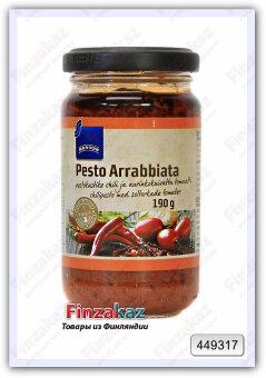 Соус для пасты Pesto Arrabbiata Rainbow 190 гр