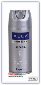 """Дезодорант-спрей для мужчин """"Cool"""" BradoLine Paris Alex, 150 мл"""