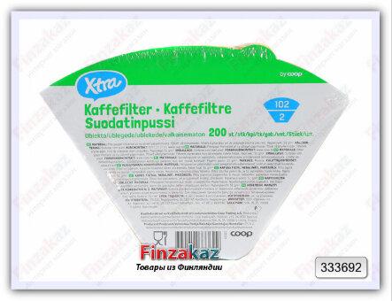 Фильтры для кофеварки X-tra №2 200 шт
