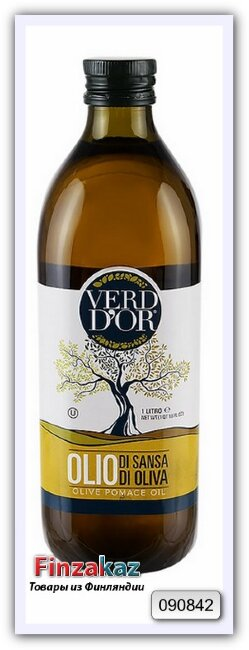 Масло оливковое нерафинированное высшего качества Verd D'or 1 л
