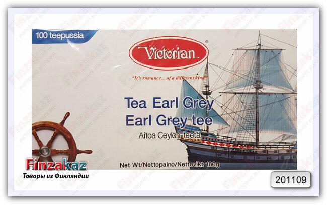 Чай Victorian (чёрный с бергамотом) 100 шт