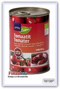 Очищенные томаты в томатном соке органические Rainbow 400 гр