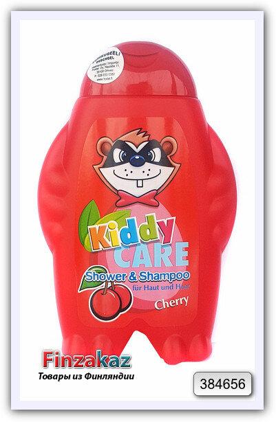 Детский шампунь для волос и тела Kiddy care cherry 300 мл