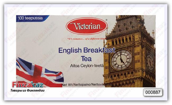 Чай Victorian (английский чёрный) 100 шт